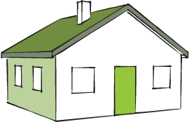 Logo: Picture of House