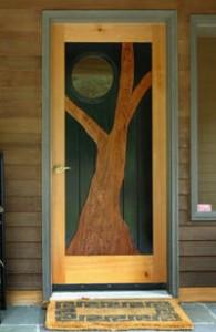 Custom front door in Alford, MA