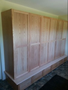 Entry cabinets